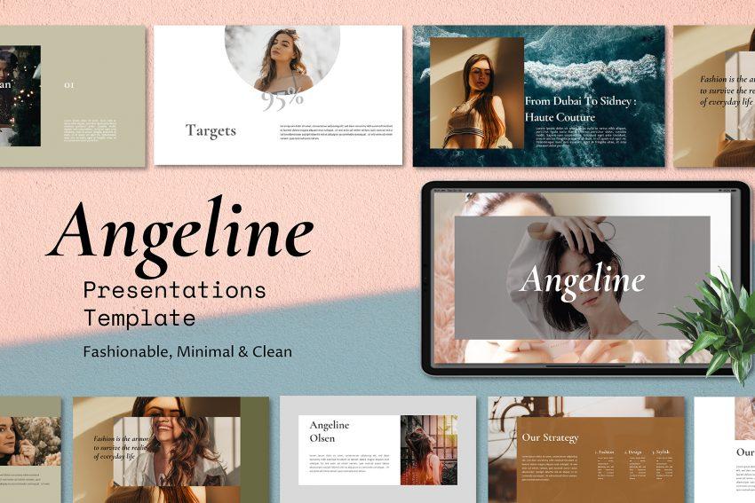 Angeline Presentation Template